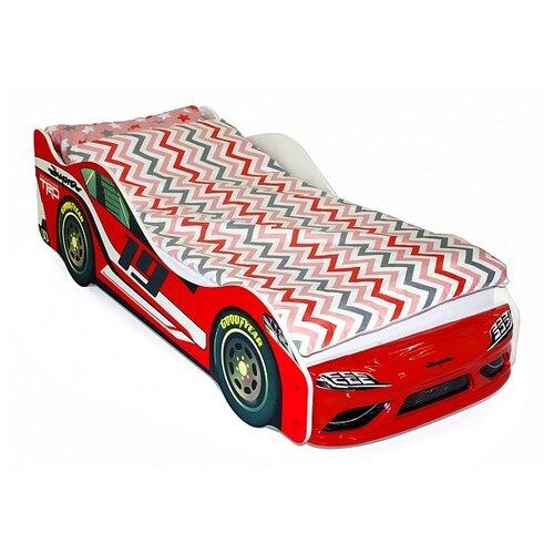 Кровать-машина Супра; красный