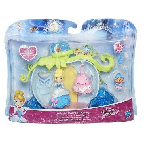 Игровой набор Hasbro Disney Princess с маленькими куклами и аксессуарами, 3 вида Золушка, Белль, Белоснежка