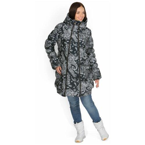 Слингокуртка I Love Mum Исландия, размер 42 / S, черный