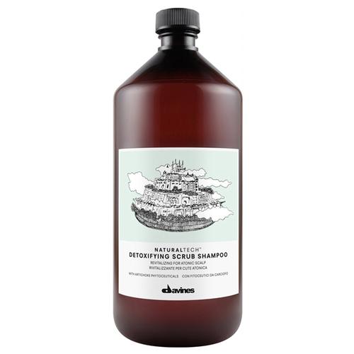 Davines шампунь-скраб NaturalTech Detoxifying, 1 л недорого