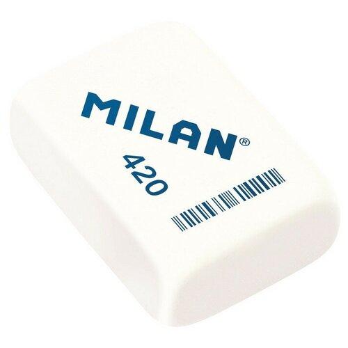 Купить Ластик каучуковый Milan Architect 420, цв. в ассорт 4 штук, Ластики