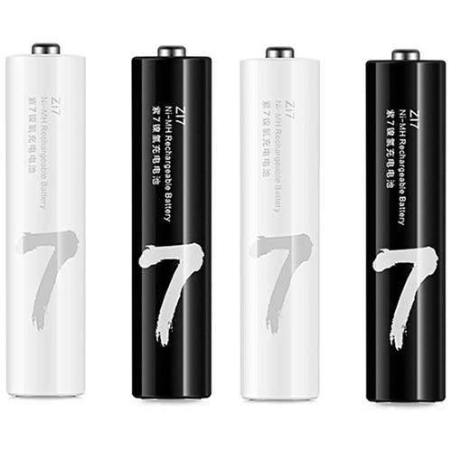 Фото - Аккумуляторные батарейки Xiaomi Mi ZMI Rainbow Z17 АAA (4 шт) аккумуляторные батарейки xiaomi zmi zi5 aa aa512 4шт в упак 1700 мач