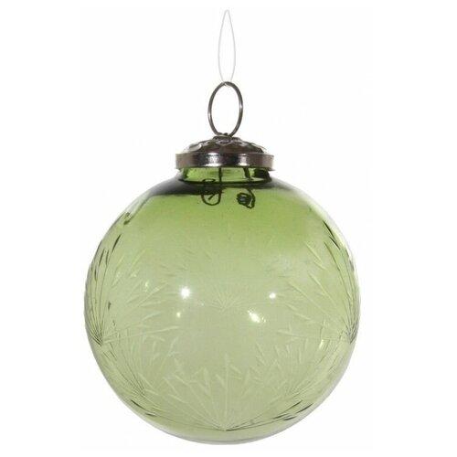 Елочный шар SHISHI 44233, прозрачный, 10 см