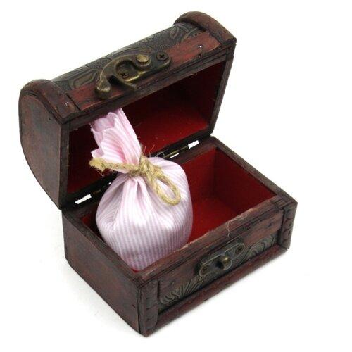 Ароматическое саше Midzumi Трепет розы, сундук сувенирный, малый