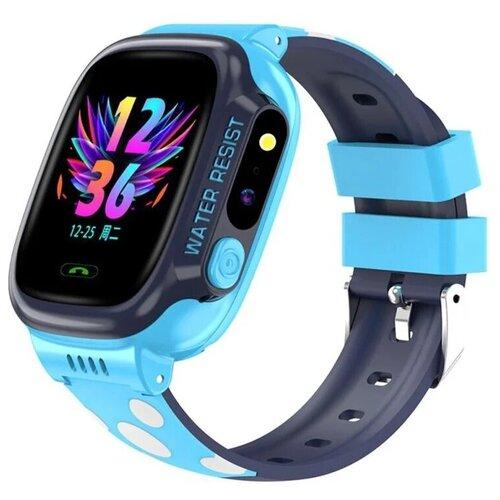 Детские умные смарт-часы Smart Baby Watch Y92 2G, с поддержкой Wi-Fi и GPS, HD камера, SIM card (Голубой) детские умные часы телефон с gps smart baby watch df25 голубые