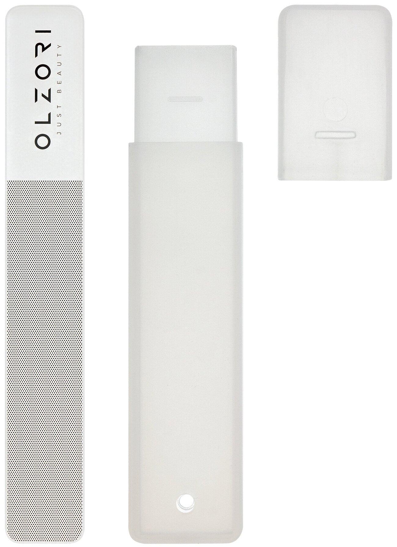 Купить OLZORI Пилка для полировки стеклянная VirGo A серый по низкой цене с доставкой из Яндекс.Маркета