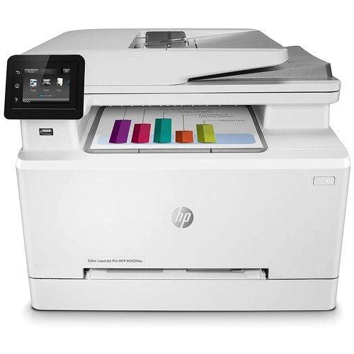 Фото - МФУ HP Color LaserJet Pro M283fdw, белый мфу hp laserjet pro m521dn