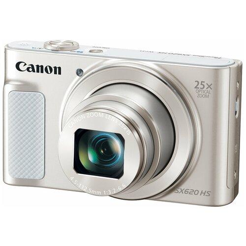 Фото - Фотоаппарат Canon PowerShot SX620 HS белый фотоаппарат canon powershot sx740 hs серебристый коричневый