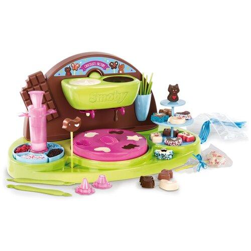 Кондитерская фабрика Smoby Chef Chocolate Factory 312102 зеленый/коричневый/розовый/голубой