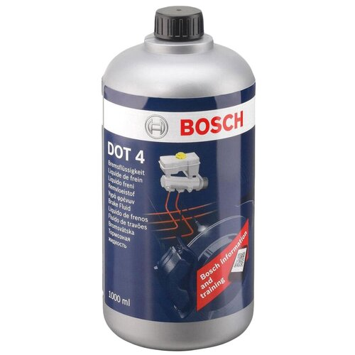 Тормозная жидкость Bosch DOT 4, Brake Fluid 1 л тормозная жидкость bosch dot 4 brake fluid 1 л