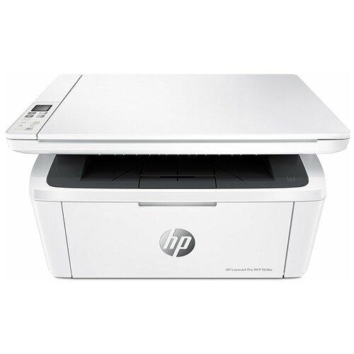 Фото - МФУ HP LaserJet Pro MFP M28w, белый мфу hp laserjet pro m521dn