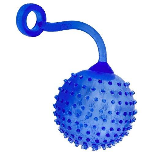 Игрушка-мялка Город Игр Мячик с шипами синий