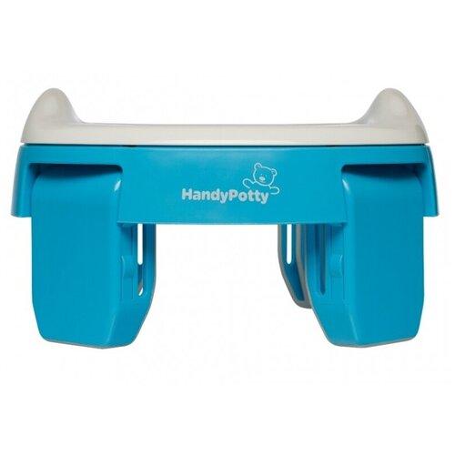 ROXY-KIDS горшок дорожный HandyPotty HP-250 голубой