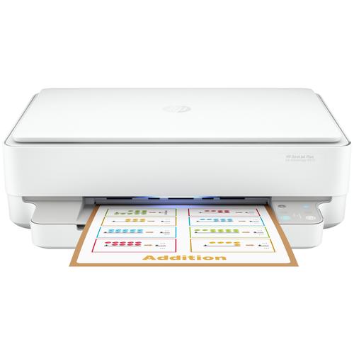 Фото - МФУ HP DeskJet Plus Ink Advantage 6075, белый мфу hp deskjet plus ink advantage 6075 белый