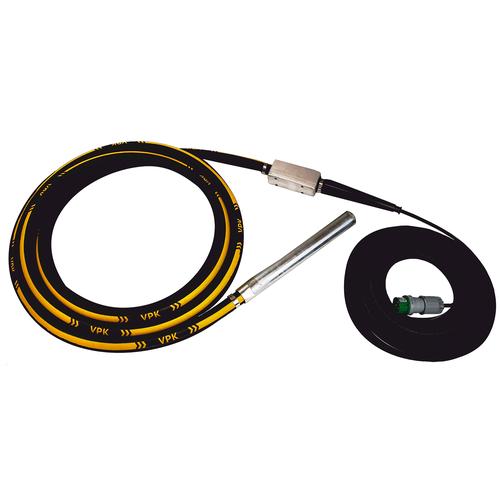 Электрический глубинный вибратор высокочастотный ВПК Механизация 50T