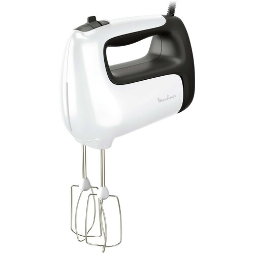 Миксер Moulinex HM 461110, белый/серый