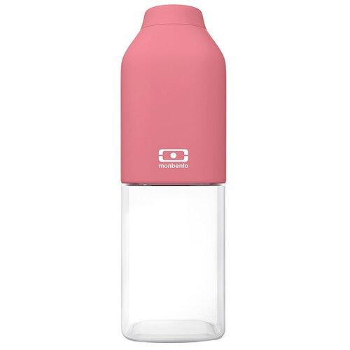Бутылка для воды, для безалкогольных напитков Monbento MB Positive M 0.5 пластик blush