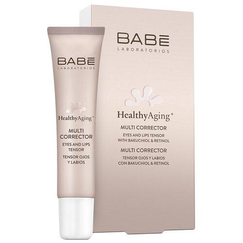 Купить BABE Laboratorios Крем-мультикорректор с антивозрастным эффектом для кожи вокруг глаз и губ, 15 мл