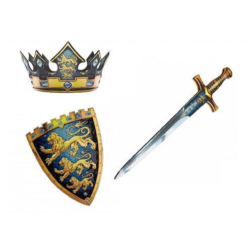 Корона, щит и меч короля
