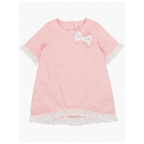 Фото - Платье Mini Maxi, 4833, цвет кремовый/розовый, размер 116 рубашка fendi размер 116 кремовый