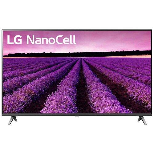 Телевизор NanoCell LG 65SM8050 65 (2019), черный телевизор nanocell lg 65nano806 65 2020