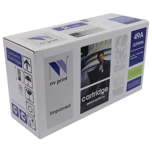 Фото - Картридж NV Print Q5949A для HP, совместимый картридж nv print cf403a для hp совместимый