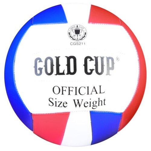 Волейбольный мяч Gold Cup CGS211 белый/красный/синий