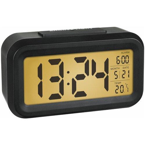 Часы с термометром TFA 60.2018, черный
