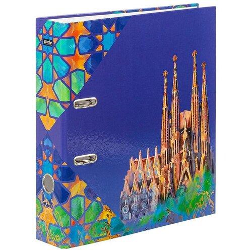 Купить Attache SELECTION Папка-регистратор Travel А4, ламинированный картон, 75 мм Spain, Файлы и папки