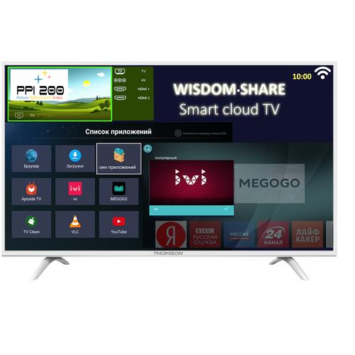 Фото - Телевизор Thomson T43FSL5131 43 (2018), белый телевизор thomson t24rte1020