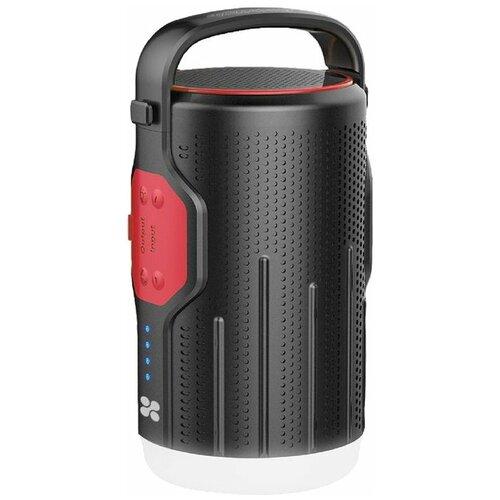 Портативная акустика Promate CampMate-2, черный/красный