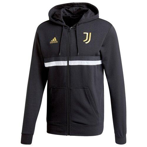 Толстовка adidas размер l, black/white/pyrite