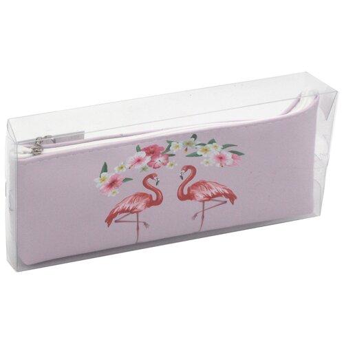 ArtSpace Пенал Flamingo (Tn_19855), розовый недорого