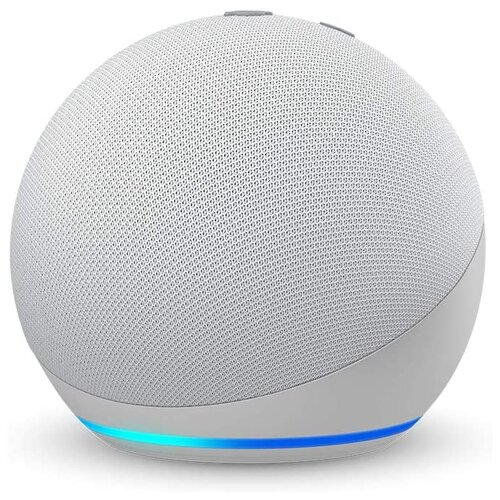 Умная колонка Amazon Echo Dot 4th Gen, Glacier White