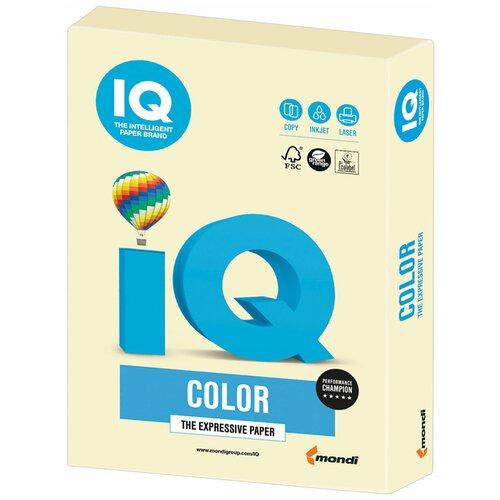 Фото - Бумага IQ Color А4 160 г/м² 250 лист., ванильно-бежевый BE66 бумага iq color а4 color 120 г м2 250 лист оранжевый or43 1 шт