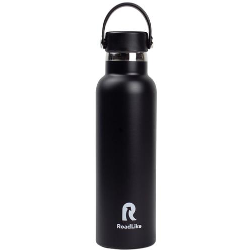 Термобутылка RoadLike Flask 600мл, черный