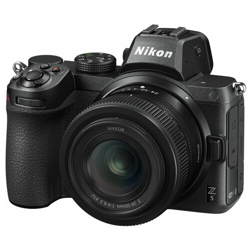 Фото - Фотоаппарат Nikon Z5 Kit черный Z 24-50mm f/4-6.3 фотоаппарат nikon z5 kit 24 50 f 4 6 3 c адаптером ftz