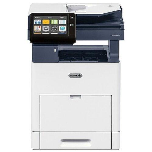 Фото - МФУ Xerox VersaLink B605XL, белый/синий мфу xerox versalink b605s белый синий
