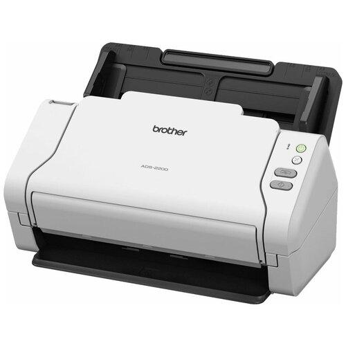 Сканер Brother ADS-2200 белый/черный сканер brother pds 5000