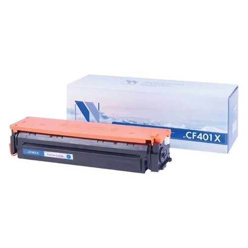 Фото - Картридж лазерный NV PRINT (NV-CF401X) для HP M252dw/M252n/M274n/M277dw/M277n, голубой, ресурс 2300 страниц картридж nv print cf401x для hp совместимый