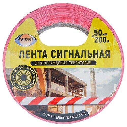 Фото - Оградительная лента Aviora 302-011 белый/красный 1 шт. оградительная лента зубр мастер 12240 75 200 красный белый 1 шт
