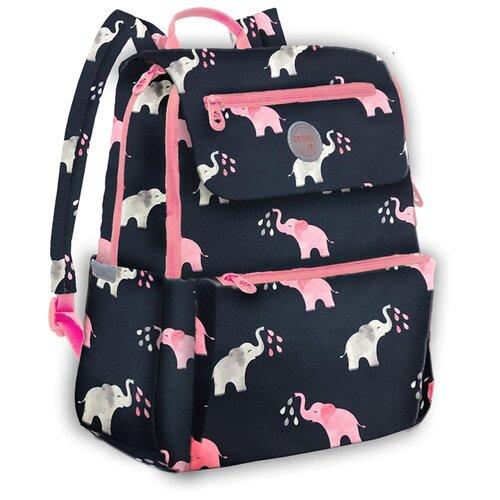 Купить Grizzly Рюкзак (RD-148-2/5), черный/розовый, Рюкзаки, ранцы