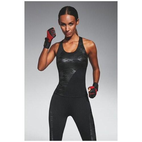 Bas Bleu Спортивная майка для фитнеса Combat, черный, L