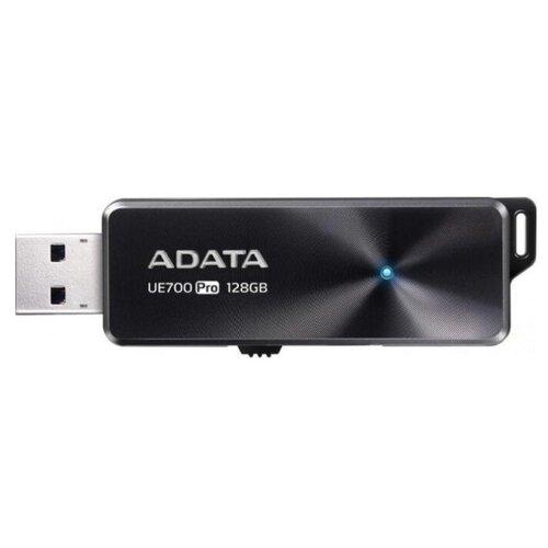 Фото - Флешка ADATA UE700 Pro 128 GB, черный флешка adata uv240 16 gb черный