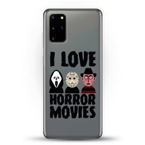 Силиконовый чехол Фильмы Ужасов на Samsung Galaxy S20+