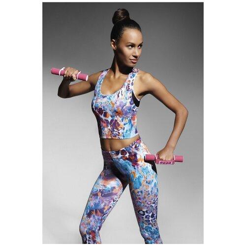 Bas Bleu Топ-майка для фитнеса Caty, разноцветный, L
