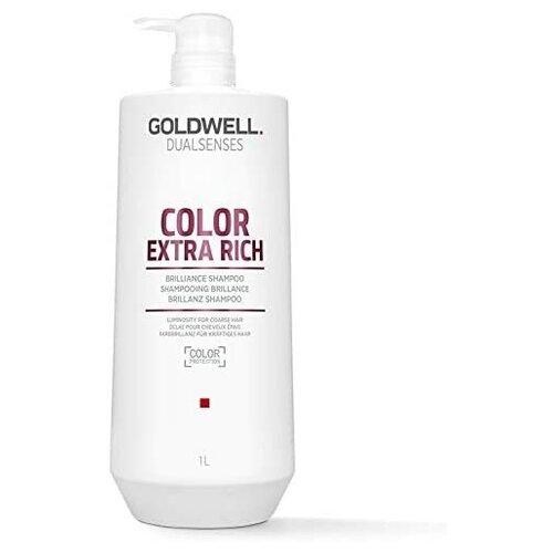 Goldwell Dualsenses Color Extra Rich Brilliance Shampoo - Шампунь для жестких окрашенных волос 1000 мл