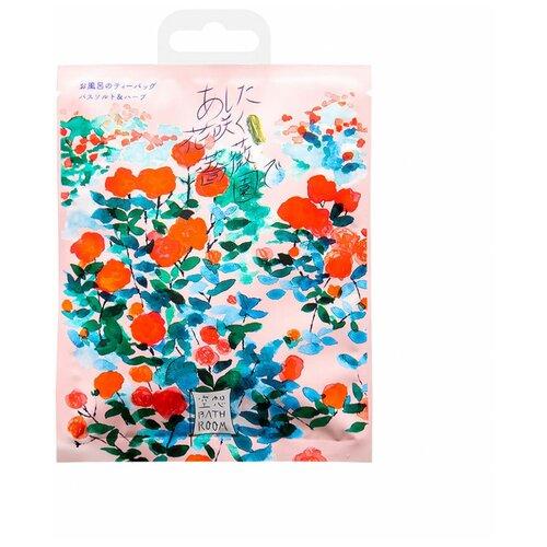 Фото - Charley Соль для ванн Сад цветущих роз с ароматом розы, 30 г добропаровъ соль для ванн с маслом ели 3005701 300 г