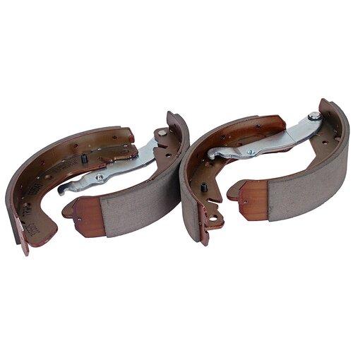 Барабанные тормозные колодки задние TRW GS8543 для ЗАЗ, Opel, Chevrolet, Daewoo (4 шт.) барабанные тормозные колодки задние mando mld04 для daewoo chevrolet opel 4 шт