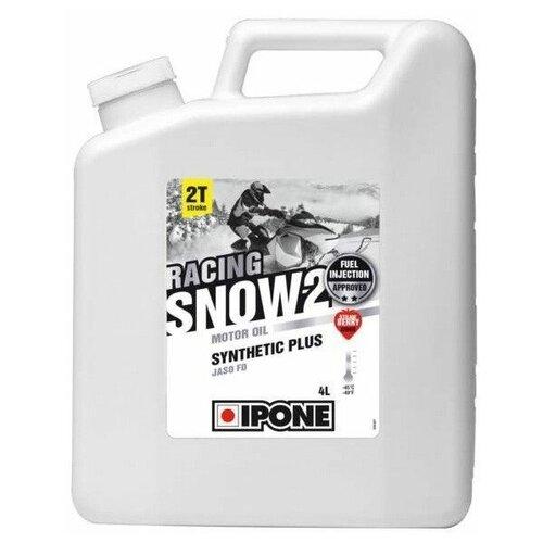 Полусинтетическое моторное масло IPONE Snow Racing Fraise 2T, 4 л fraise